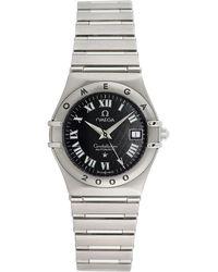 Omega Omega 1990s Women's Constellation Watch - Metallic