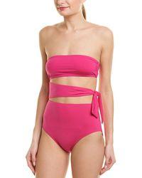 Proenza Schouler Bandeau One-piece - Pink