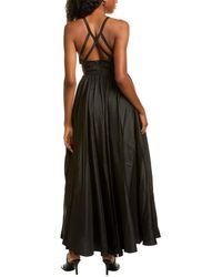 Fame & Partners Queen Of Peace Gown - Black