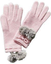 Phenix - Knit Cashmere Gloves - Lyst