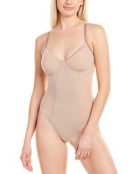 Spanx Haute Contour By ? Thong Bodysuit - Multicolor