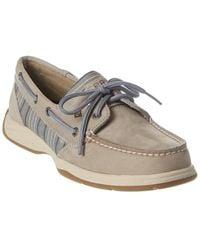 Sperry Top-Sider Intrepid Suede Boat Shoe - Grey