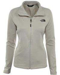 The North Face Momentum Full Zip Top - White