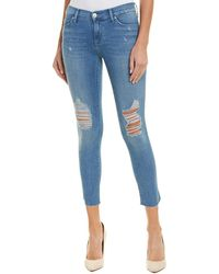 Hudson Jeans Tally Sugarcoat Skinny Crop - Blue