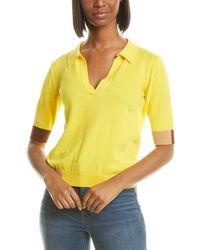 Chinti & Parker Verona Polo T-shirt - Blue