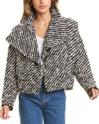IRO Huddle Wool-blend Jacket - White