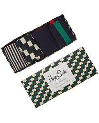 Happy Socks 4pc Gift Box - Multicolour