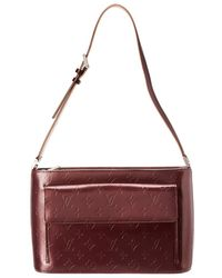 Louis Vuitton - Purple Monogram Mat Vernis Leather Alston - Lyst