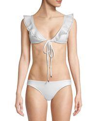 Mouillé Swimwear 2pc Penelope Ruffled Bikini - Multicolor