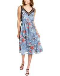 French Connection Cateline Slip Dress - Blue