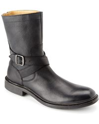 Cole Haan Marshall Leather Boot - Black