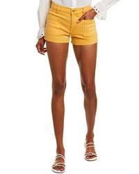 FRAME Denim Le Bardot Marigold Short - Orange