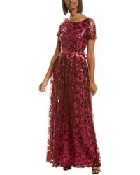 Tahari Gown - Red