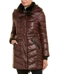 French Connection - Quilted Coat - Lyst