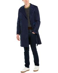 Valentino Trench Coat - Blue