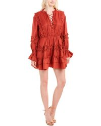 C/meo Collective C/meo Collective Slow Down A-line Dress - Red
