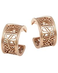Poiray 18k Rose Gold Drop Earrings - Metallic