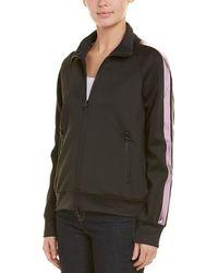 Pam & Gela Metallic Stripe Jacket - Black
