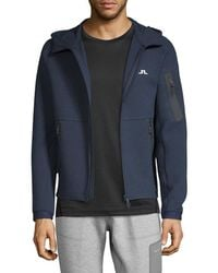 J.Lindeberg - Active M Athletic Tech Sweat Jacket - Lyst