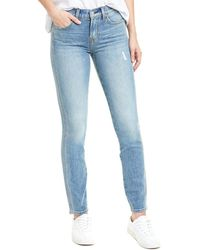 7 For All Mankind - 7 For All Mankind Topanga High-rise Straight Leg Jean - Lyst