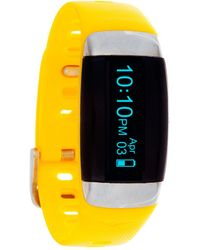 Everlast Tr7 Activity Tracker And Heart Rate Monitor - Yellow