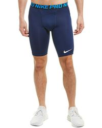 Nike Pro Heist Slider Compression Short - Blue