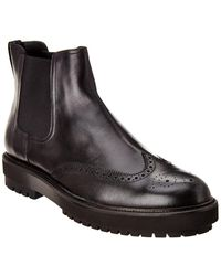 Tod's Leather Boot - Black