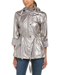 Kenneth Cole New York Metallic Parka