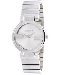 Gucci Women's Interlocking Watch - Metallic
