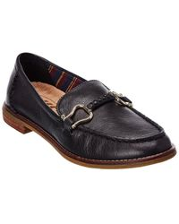 Sperry Top-Sider Seaport Penny Leather Slip-on - Black