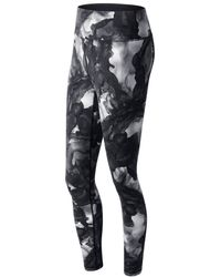 New Balance - High Rise Tight Printed - Lyst