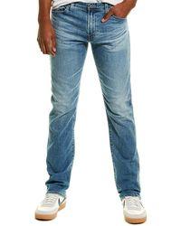 AG Jeans Everett Light Wash Slim Straight Leg - Blue