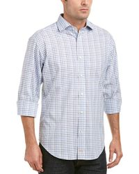 Thomas Dean Woven Shirt - Purple