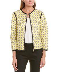 ESCADA Leather Jacket - Yellow