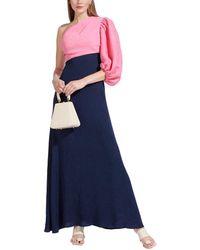 STAUD Didi Maxi Dress - Blue