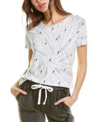 Chrldr Tie-dye T-shirt - White