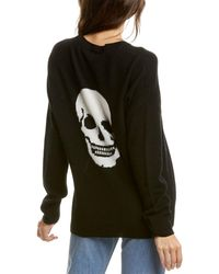 Skull Cashmere Cammeline Cashmere Jumper - Black