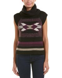 Autumn Cashmere Cashmere & Wool-blend Vest - Purple