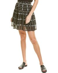 Sabina Musayev Moana Mini Skirt - Black