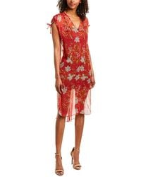 Vince Camuto Midi Dress - Red