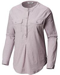 Mountain Hardwear Karsee Pullover - Purple