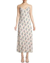 Jill Stuart Ellie Floral Slip Dress - Multicolor