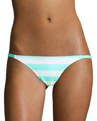 Solid & Striped Solid And Striped Bikini Bottom - Blue
