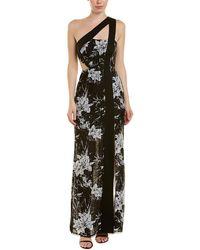 BCBGMAXAZRIA One-shoulder Maxi Dress - Black