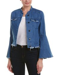 Romeo and Juliet Couture Bell-sleeve Jacket - Blue