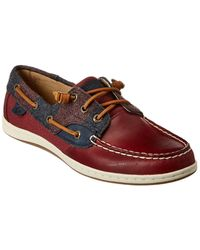 Sperry Top-Sider Songfish Varsity Boat Shoe - Red