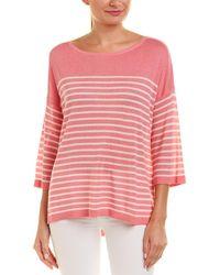 NYDJ Serra Linen-blend Sweater - Pink