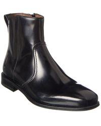 Ferragamo Spider Leather Boot - Black