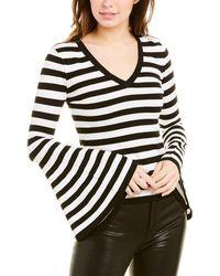 MILLY Bell-sleeved Jumper - Black