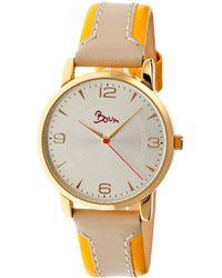 Boum Contraire Watch - Metallic